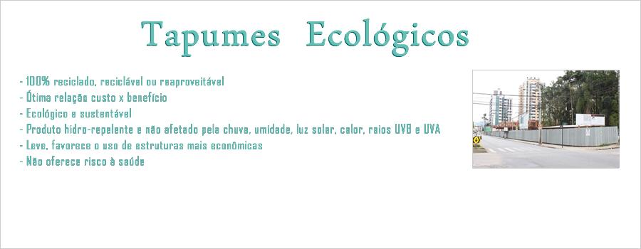 O que é um Tapume Ecológico?